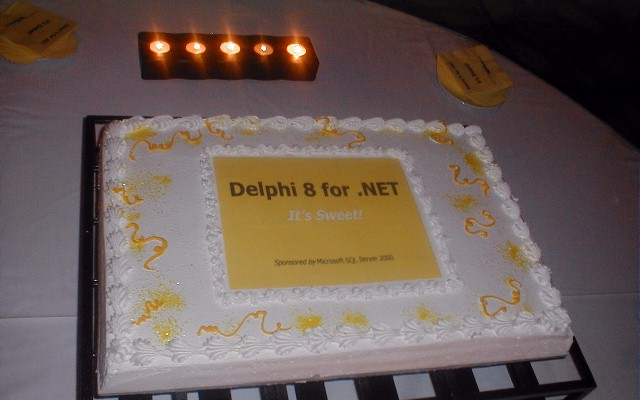 Delphi 8 for .NET... it's Sweet